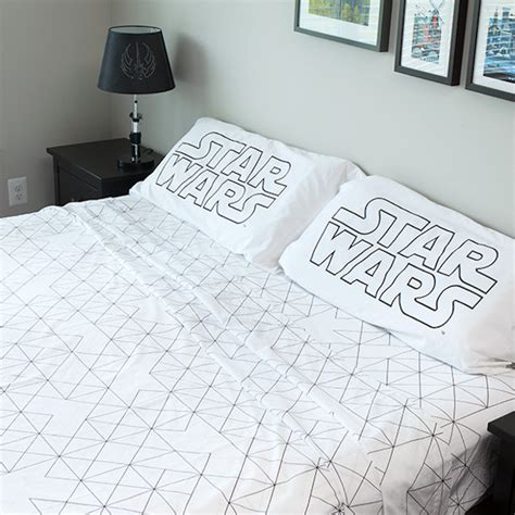 Star Wars Death Star Bedding The Softer Side Of The Dark Wars Bed Sheets