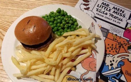 gravy boat littlehton lunch menu new mr men little miss kids menu at beefeater paperblog