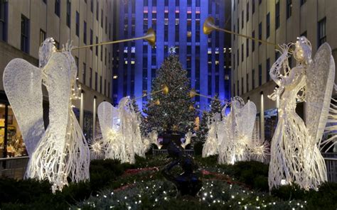 rockafeller center tree lighting heightened security amid rockefeller tree