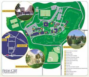 Printable Directions Briar Cliff University Campus Map