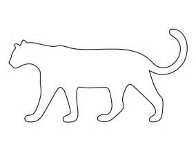 cheetah template leopard pattern use the printable outline for crafts