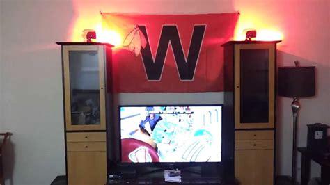 nhl goal light wifi homemade hockey goal light youtube