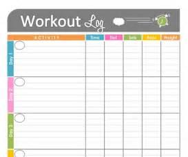 free printable workout schedule blank calendar printing