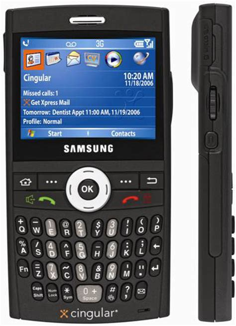 Blackjack With Cingular by Cingular Announce The Samsung Blackjack I607 Jason