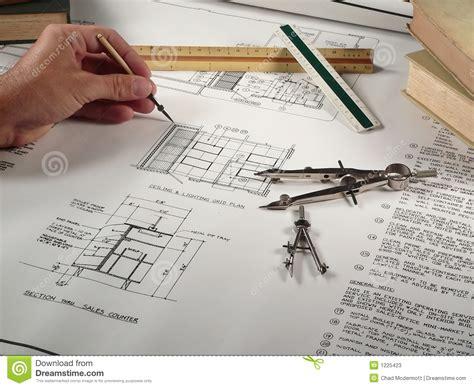 Architect Work Architect At Work Stock Photos Image 1225423