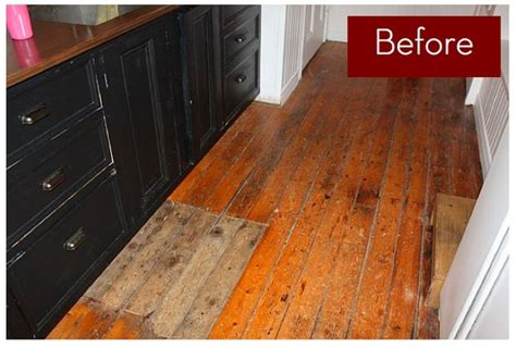best way to get paint hardwood floors wood floor makeover paint or not curbly