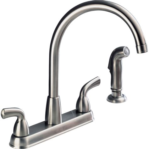the elegant and interesting kitchen faucet dripping from