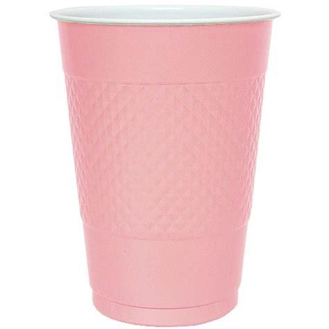 hanna k plastic cups 18 oz pink 50 ct jet com