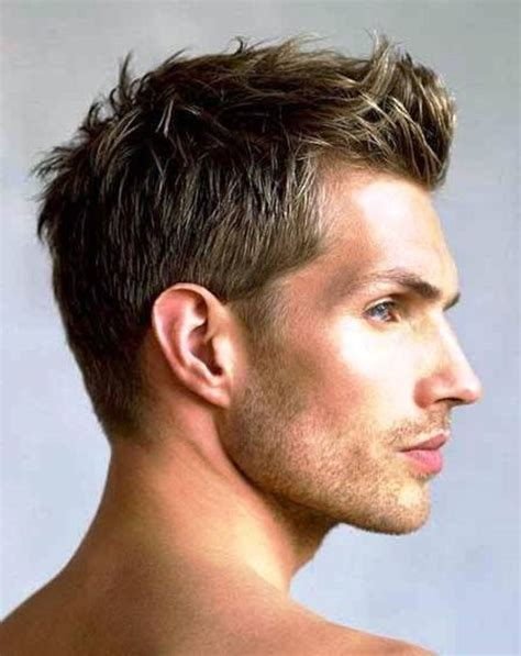 hairstyles short in back and long sides 1000 ideas about short men s hairstyles on pinterest