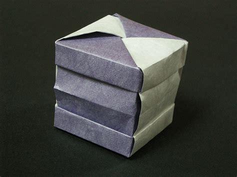 Origami Cube Box - origami cube box 171 embroidery origami