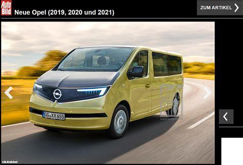 2020 Opel Vivaro oto elektryczny opel vivaro 2020 w wizji auto bilda