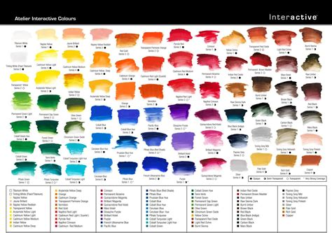 acrylic colors atelier interactive professional artists acrylic color