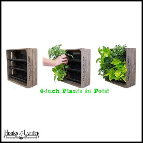 vertical wall planter upcycled garden containers hooks