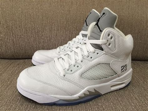 new year 5s release date air 5 quot white metallic quot release date sneakernews