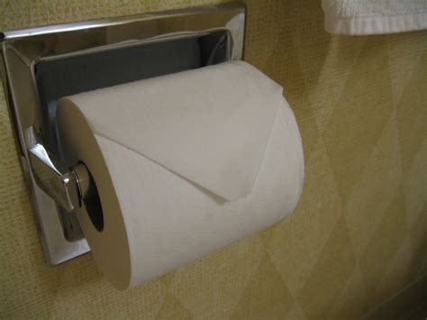 Hotel Toilet Paper Folding - museum playasax display what were they thinking the