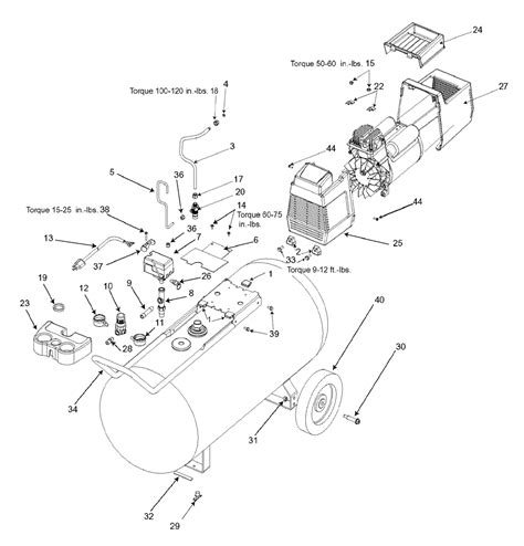 dewalt air compressor wiring diagram circuit diagram maker
