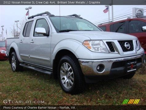2012 nissan frontier crew cab sl for sale 20 used cars from 16 423 brilliant silver metallic 2012 nissan frontier sl crew cab 4x4 graphite interior gtcarlot