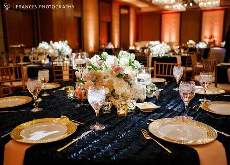 navy and gold wedding denver wedding planner four seasons