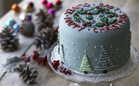 christmas cake decoration ideas uk billingsblessingbags org