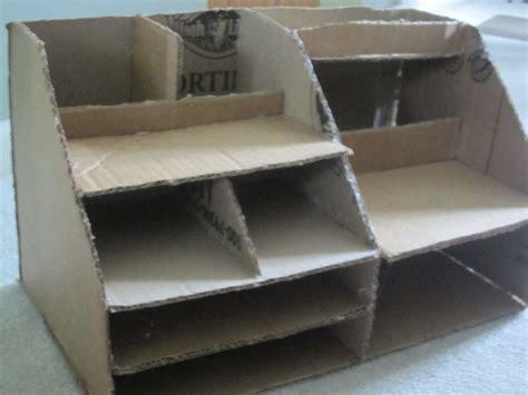 Cardboard Desk Organizer Cardboard Desk Organizer Organizational