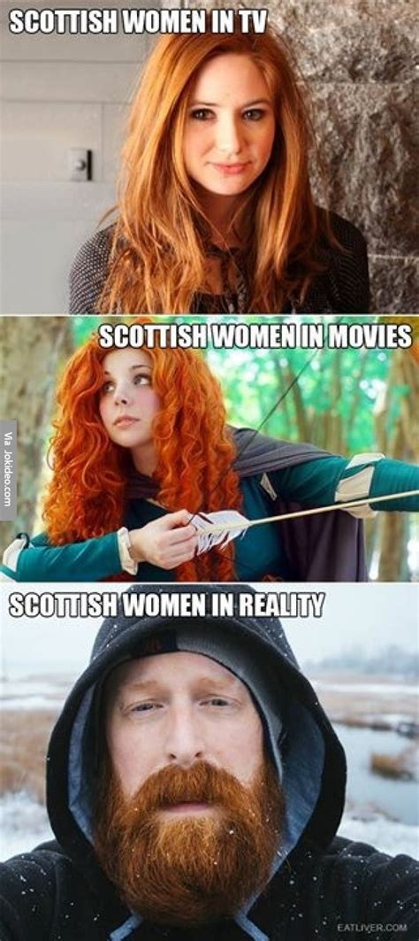 Scottish Meme - scottish women