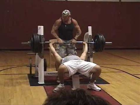 ymca bench press mike s bench press attempts 2009 local ymca bench