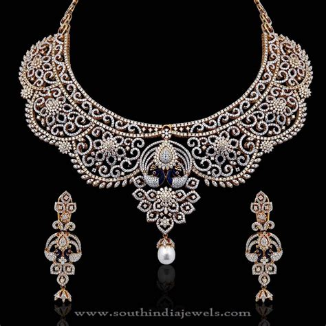 braut collier diamond bridal necklace from nac jewellers necklace