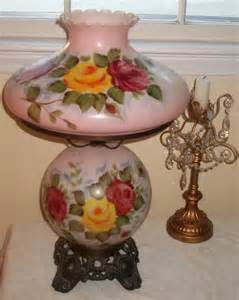 Reproduction Sconces Extra Large Antique Gone With The Wind Lamp Pink With