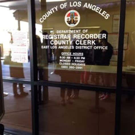 La County Clerk Office by Expect Line Yelp