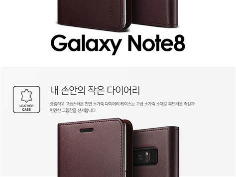 Verus Genuine Leather Diary For Galaxy Note Fe Note 7 Navy verus genuine leather diary for samsung galaxy note8