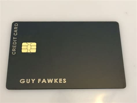 Credit Card Black Template Redundancy Emv Chip Now Available Metal Creditcard Com