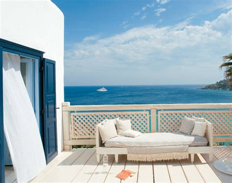 Greek Style Home Decor greek decor style in white and blue at mykonos blue resort