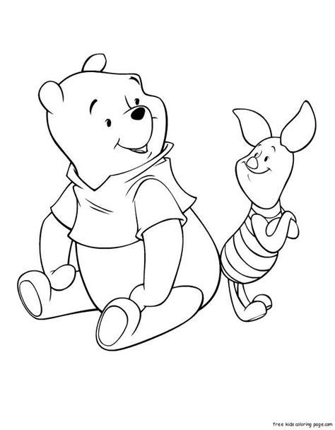 coloring pages  winnie  pooh  pigletfree printable