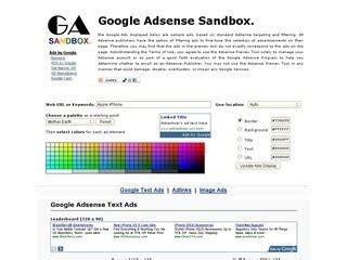 adsense sandbox sandbox google adsense my article