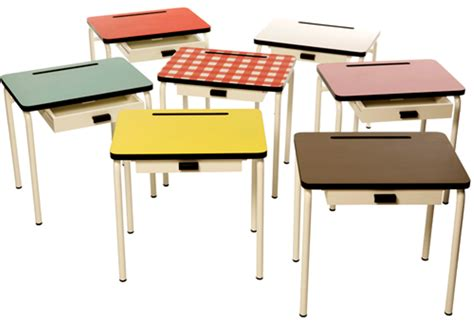 school desks for retro school desks and chairs for study space