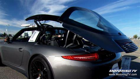 Porsche Carrera Targa by Test Drive 2016 Porsche 911 Targa 4 Gts Youtube