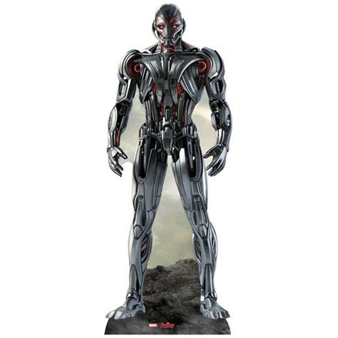 Limited Mainan Robot Avengers2 Age Of Ultron marvel age of ultron ultron cut out my box