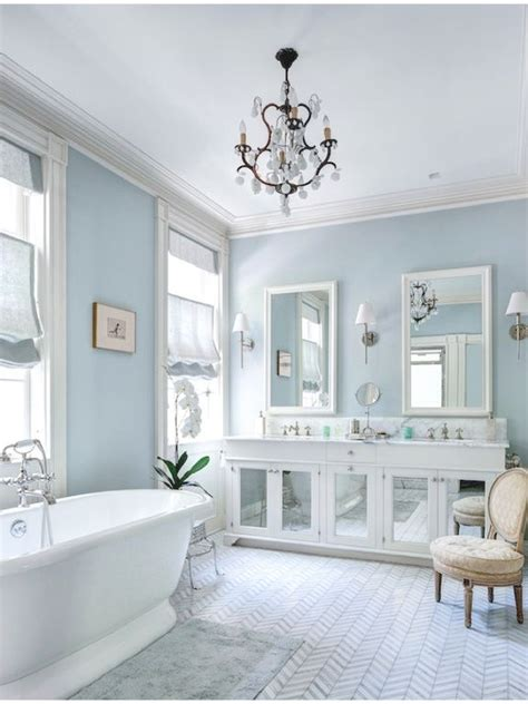 bloombety wainscoting in bathroom ideas with pale blue best 25 blue bathrooms ideas on pinterest blue bathroom