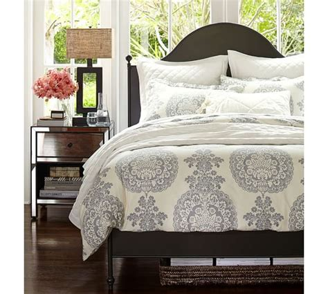 pottery barn bedding sets lucianna medallion duvet cover sham pottery barn