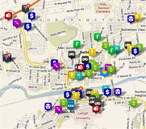 crime tracker the science of fighting crime predictive crime mapping
