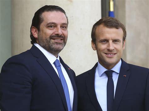 emmanuel macron hariri prime minister saad hariri returns to lebanon new