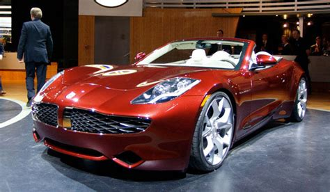cool electric cars fisker electric car a beautiful vehicle