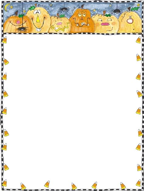 free printable halloween borders invitations free printable card and stationary trials ireland