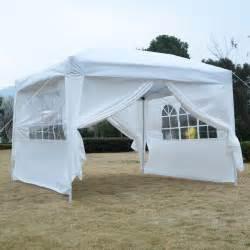 Gazebo Shelter Goplus 10 X10 Ez Pop Up Tent Gazebo Wedding Canopy