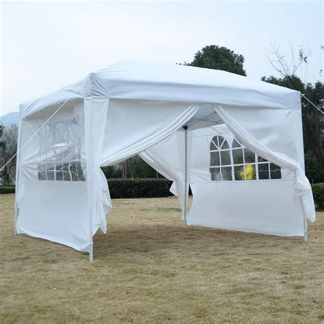 pop up cer awnings and canopies 10 x 10 ez pop up tent canopy gazebo