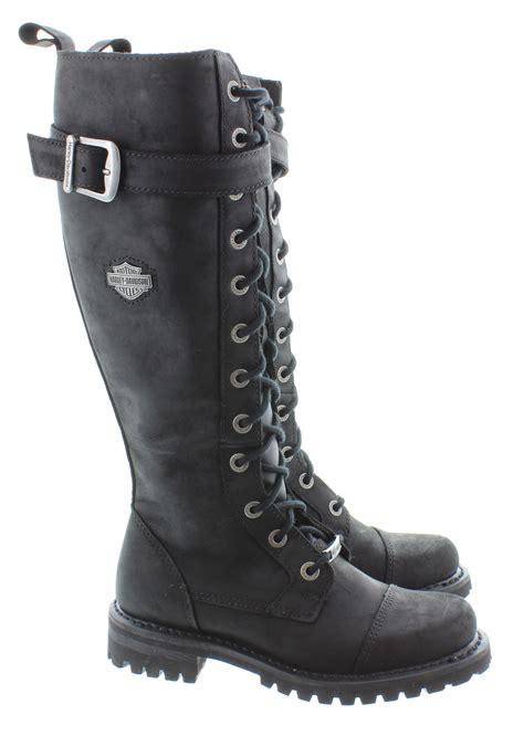 harley boots harley davidson knee boots in black