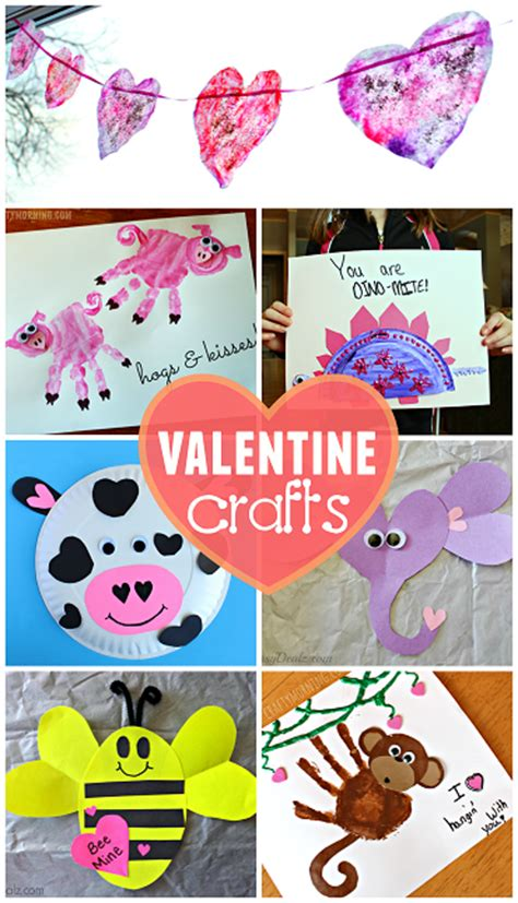 valentines day kid crafts list of easy s day crafts for crafty morning