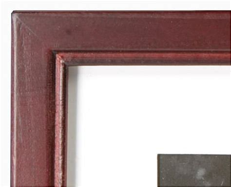 10 X 10 Wood Picture Frame W Mat by 8 X 10 Picture Frames W Mahogany Finish White Mat