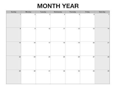 custom calendar template printable year calendar