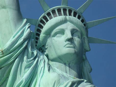 statue of liberty statue of liberty close up face desktop backgrounds for